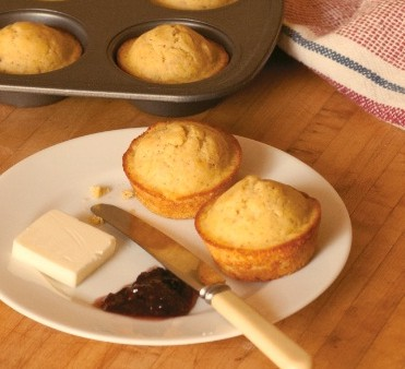 Golden Corn Muffins