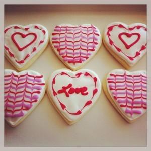 Tu-Lu's V-day cookies