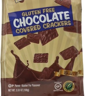 Yehuda Gluten-Free Chocolate Covered Crackers