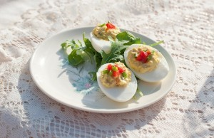 deviled eggs lauren marie angela sackett a
