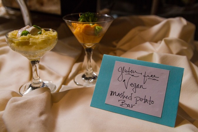gluten free wedding food