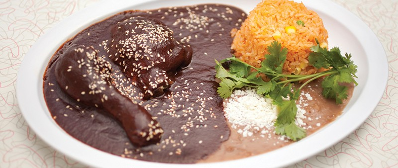 enchiladas with mole sauce borlotti bean mole with roast winter squash ...