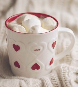 salted hot chocolate for valentine's day