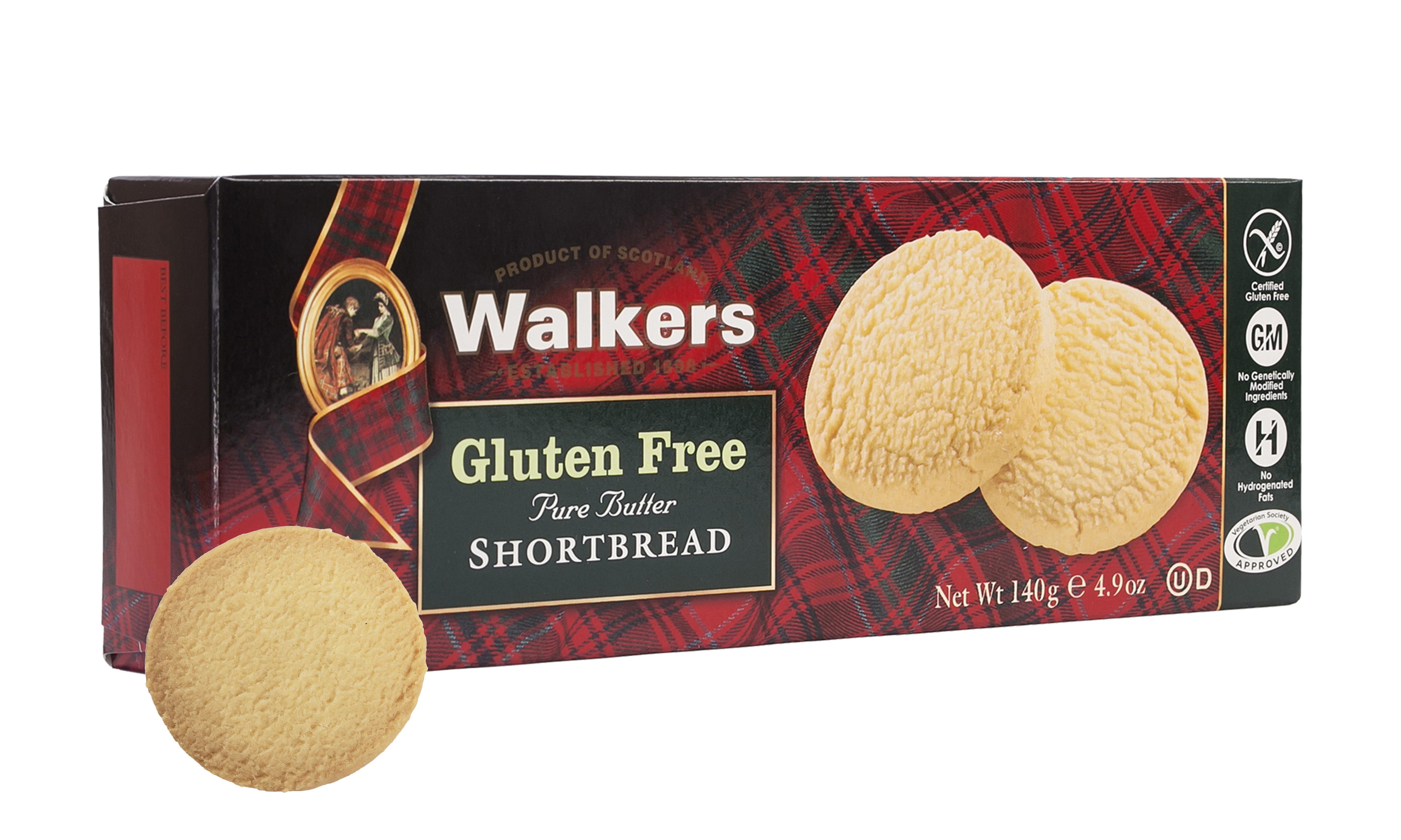Walkers Releases New Gluten-Free Shortbread - Gluten-Free Living