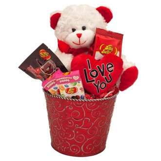 I Love You Valentine Gift Basket from Jelly Belly