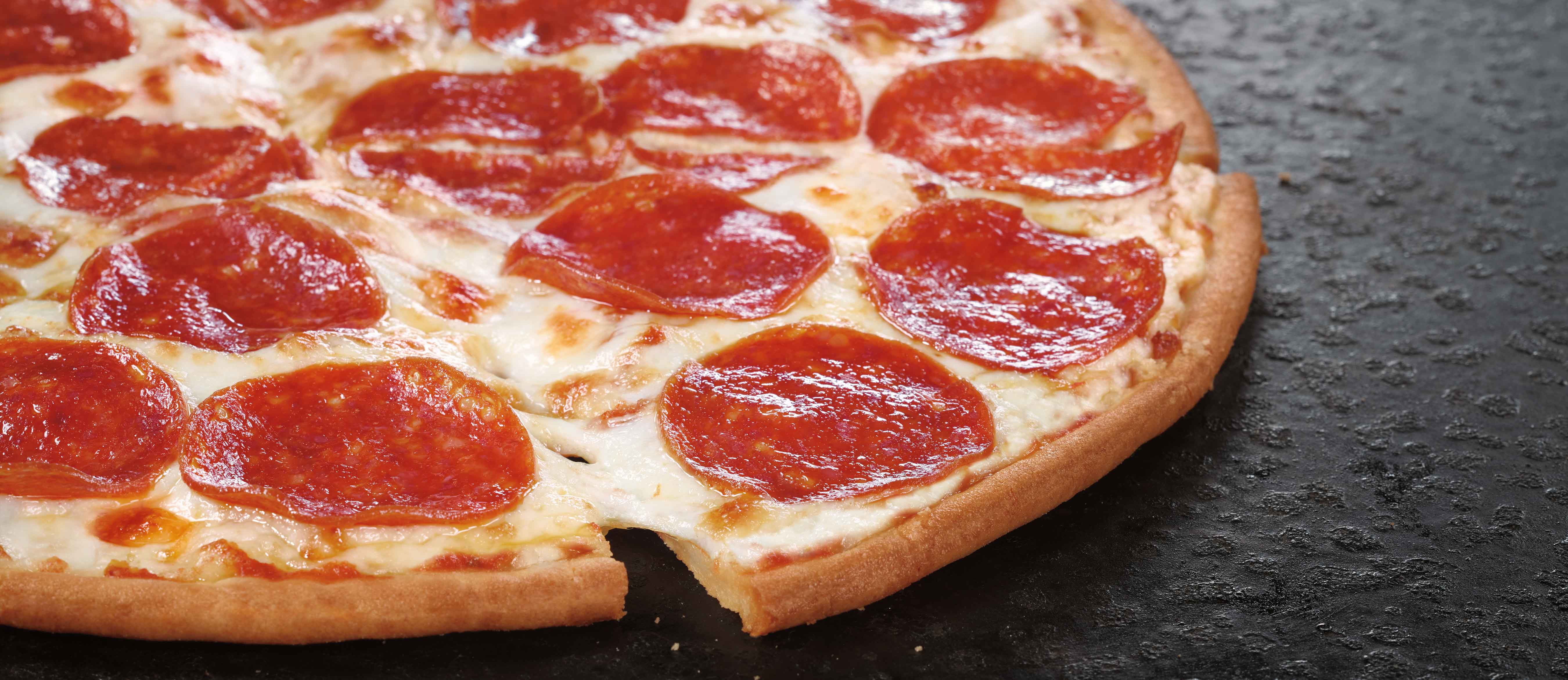 Pizza Hut® offers a Cheese-only Gluten-Free Pizza and a Pepperoni Gluten-Free Pizza made with Udi's® certified gluten-free crust which is prepared following a strict preparation process certified by the Gluten Intolerance Group (GIG).