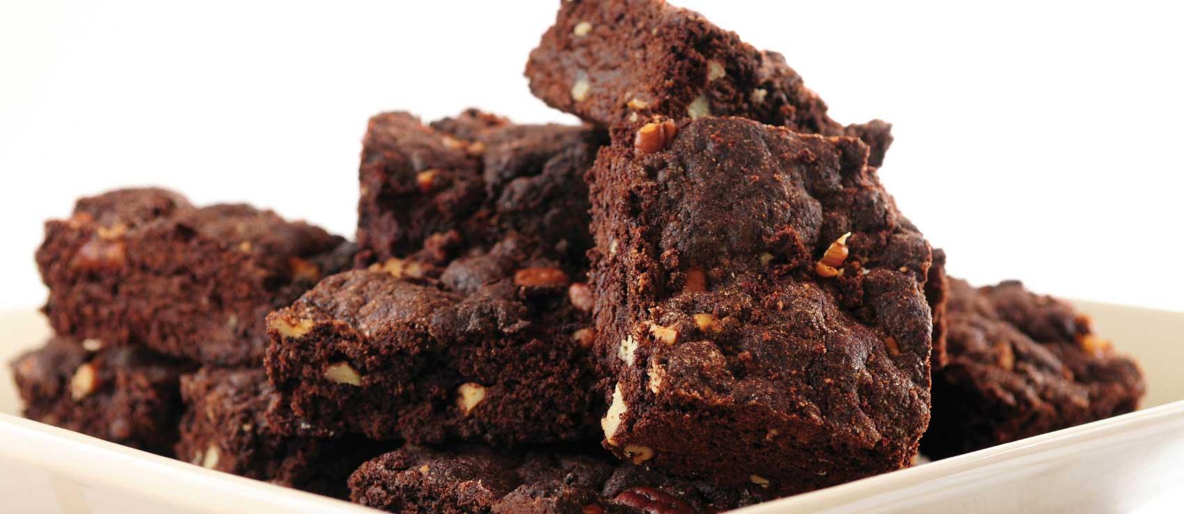 guilt-free gluten-free black bean brownies