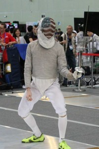 Jeff Spear About to Fence