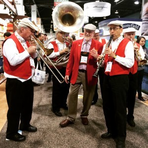 Bob's Red Mill's band at Expo West