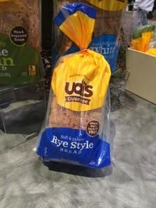 Udi's new gluten-free rye bread