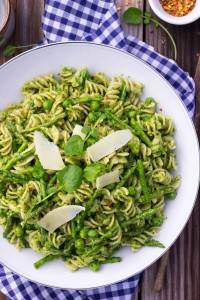 Gluten-Free Watercress Pesto Pasta Recipe