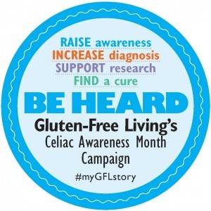 Be Heard! Speak out for celiac awareness month