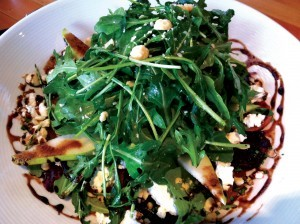 Roasted Winter Beet Salad at Edible Canada Bistro
