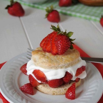 Gluten-Free Classic Strawberry Shortcake from The Baking Beauties
