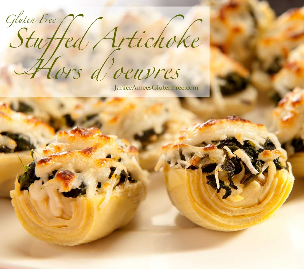 Stuffed Artichokes Gluten-Free Appetizer