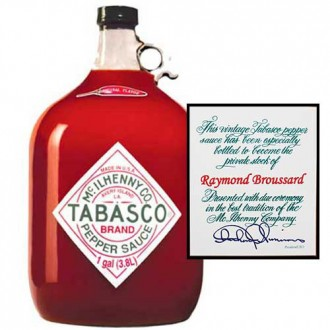 Personalized Gallon of Tabasco
