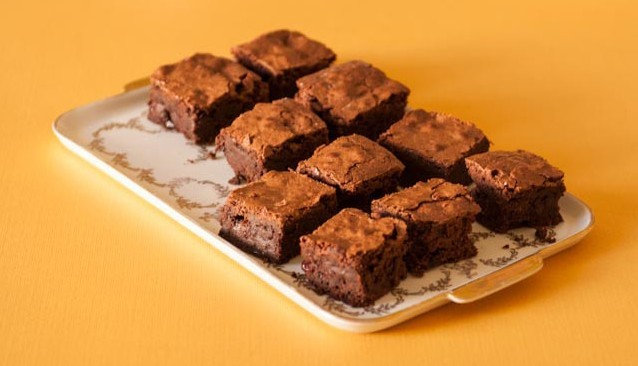 Gluten-Free Black Forest Brownies