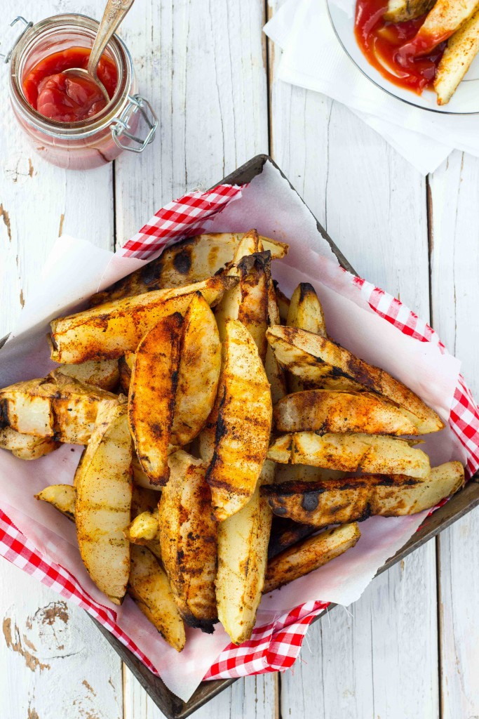 Gluten-Free Grilled Potato Wedges