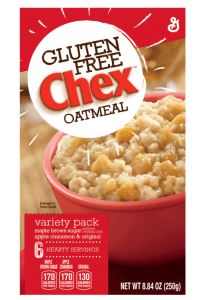 Chex gluten-free oatmeal discontinued