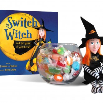 Switch Witch Toy + Book Set