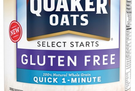 Quaker Oats' Gluten-Free Oatmeal Launches Nationwide in January