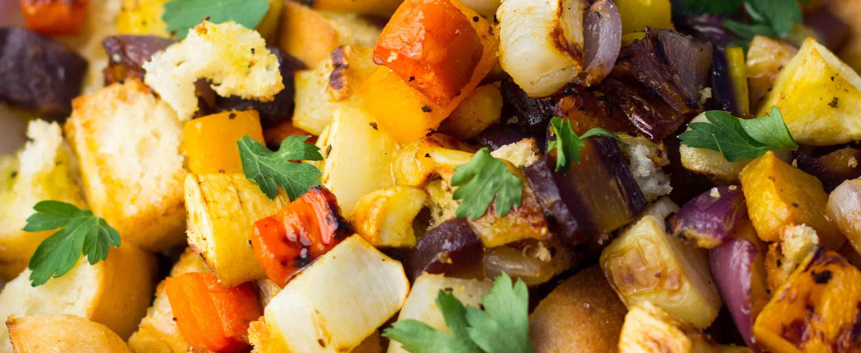 Winter Panzanella Salad - Gluten-Free Living
