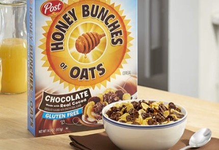 Gluten-free Honey Bunches of Oats Chocolate