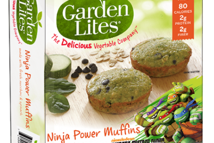 Give kids their veggies with a side of gluten-free Turtle Power