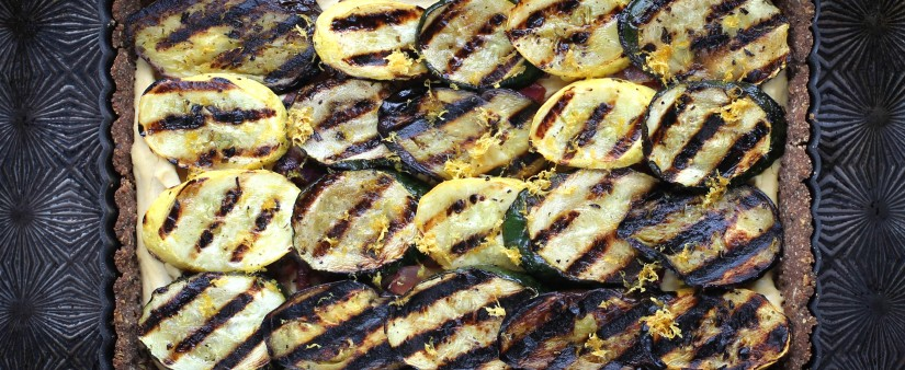 ... Free Living > Recipes > Main Dish > Grilled Vegetable and Hummus...