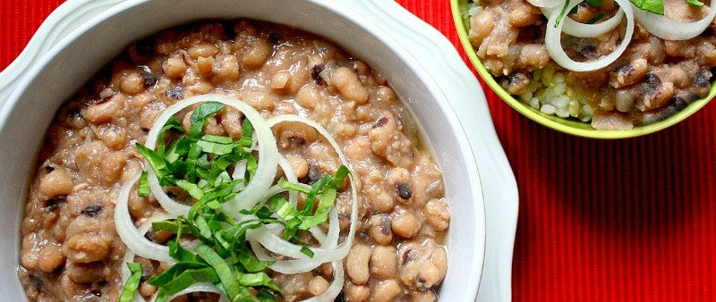 Slow Cooker Black-Eyed Peas