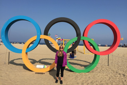 Day in the Life: Lindsey Schnitt on Working and Eating Gluten Free During the Rio Olympics