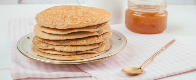 Quinoa & Pecan Pancakes