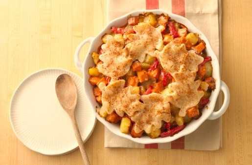 Sweet Potato Hash Pie