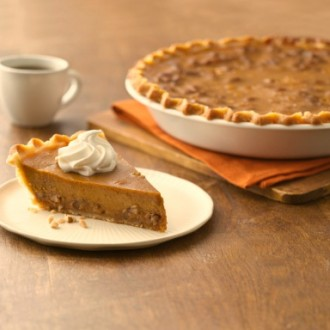 Toffee Pecan Pumpkin Pie