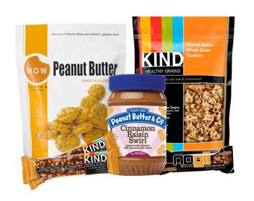 Gluten-free Peanut Butter Snacks