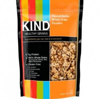 KIND Peanut Butter Whole Grain Clusters