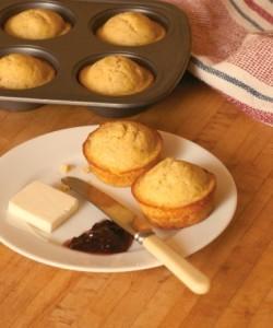 Golden Corn Muffins