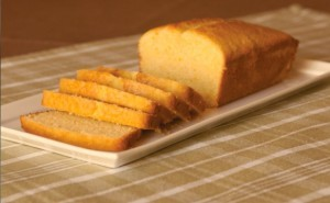 Golden Corn Pound Cake