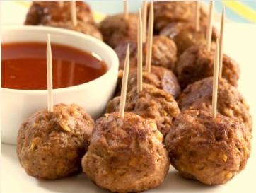 Gluten-Free Asian Meatballs
