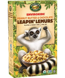 Nature's Path Leapin' Lemurs Peanut Butter and Chocolate Cereal