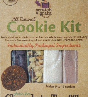 Scratch and Grain Chocolate Truffle Cookie Kit
