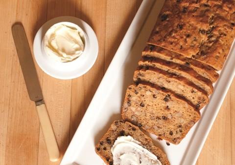 Walnut & Molasses Tea Bread