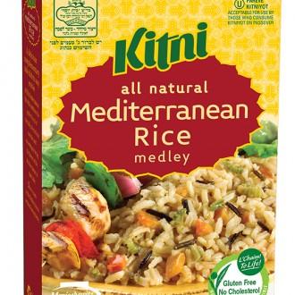 Kitni Mediterranean Rice Medley