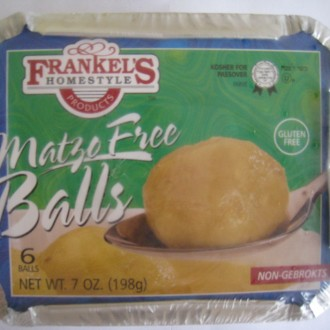 Frankel's Gluten-Free Matzo-Free Balls