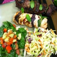 Chicken or Steak Kabobs