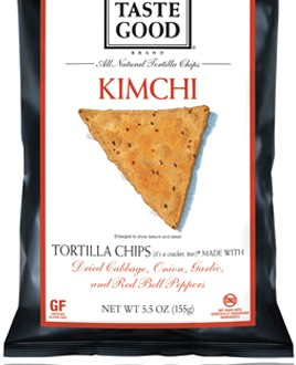 Food Should Taste Good Kimchi Tortilla Chips