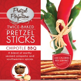 Pretzel Perfection Chipotle BBQ Sticks