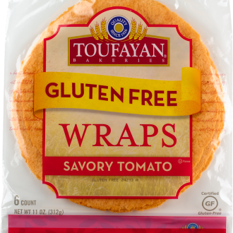 Toufayan Savory Tomato Wrap