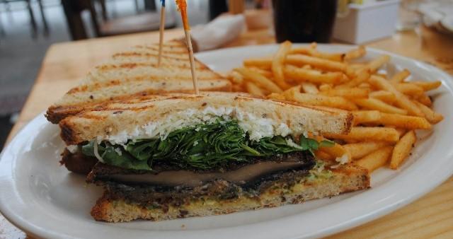 Gluten-Free Portobello Sandwich