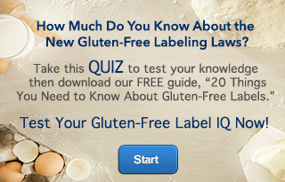 New Gluten-Free Labels Quiz